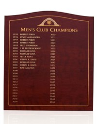 Custom Perpetual Plaque